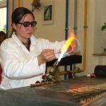 Škola řemesel - předvádění výroby