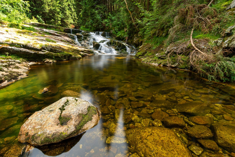 Kaskády Mumlavského vodopádu, Harrachov