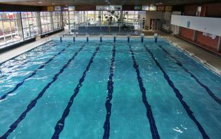Plavecký bazén s drahami 25 m v Jablonci nad Nisou - interiér