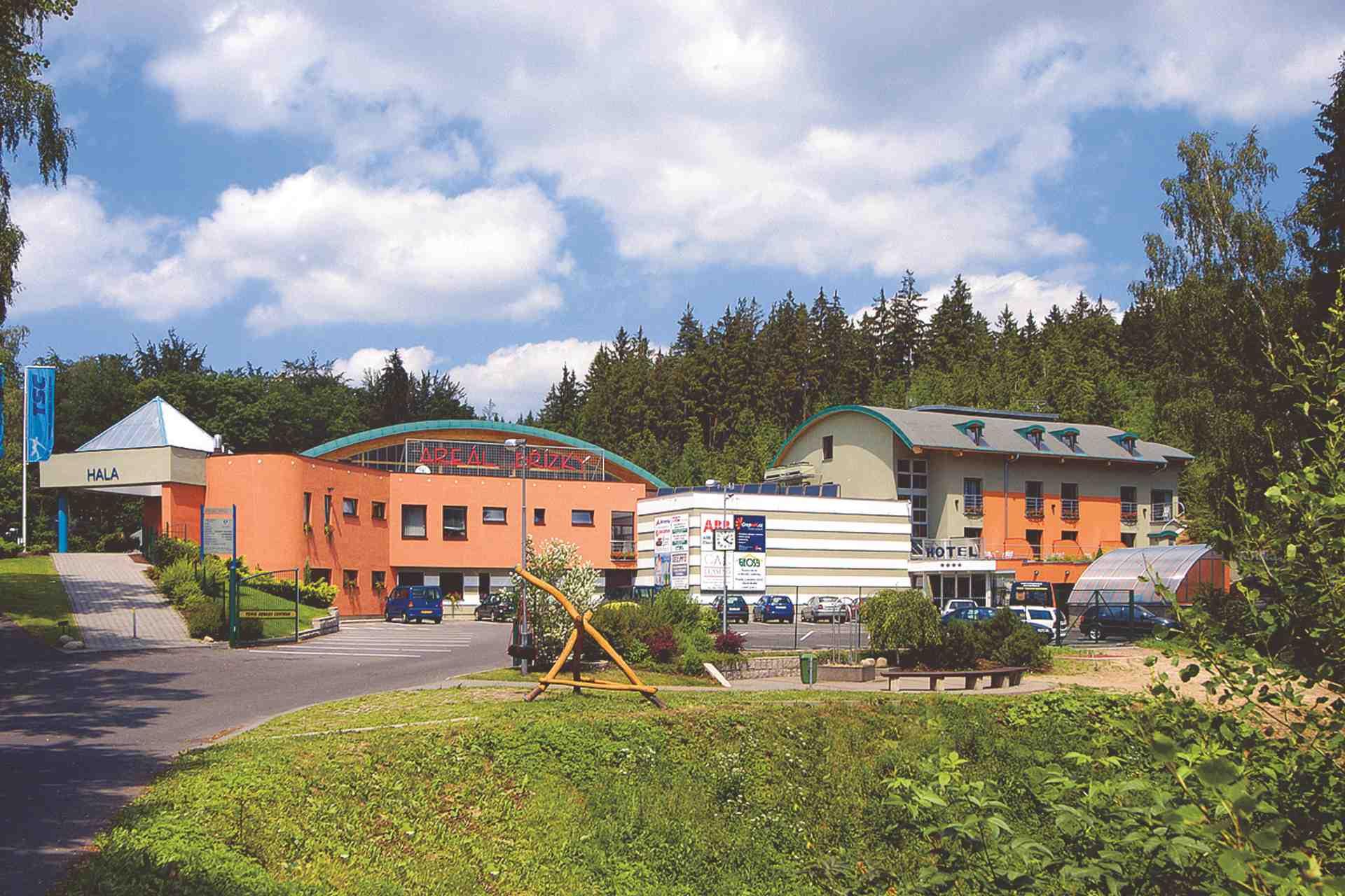 Hotel Břízky Jablonec nad Nisou v přírodním prostředí