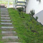 Apartmán Pod Lesem - venkovní schody