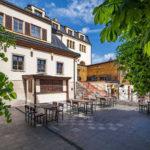 Hotel Zlatý Lev - terasa