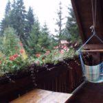 Penzion U Kouckých - pohled na balkon z pokoje