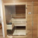 Apartmán Kokonín - sauna
