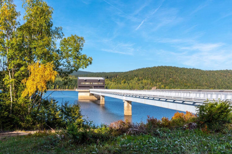 Jizerské hory - Josefodolská přehrada - zdroj pitné vody