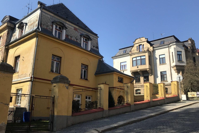 Giebischova vila v Jablonci nad Nisou navržená architektem architektem Josefem Zaschem