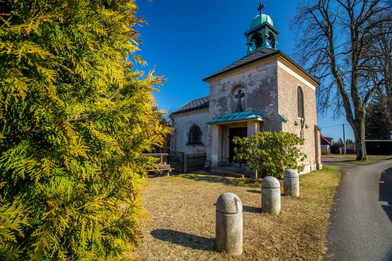 Kaple Nanebevzetí Panny Marie - Dobrá Voda, Jablonec nad Nisou