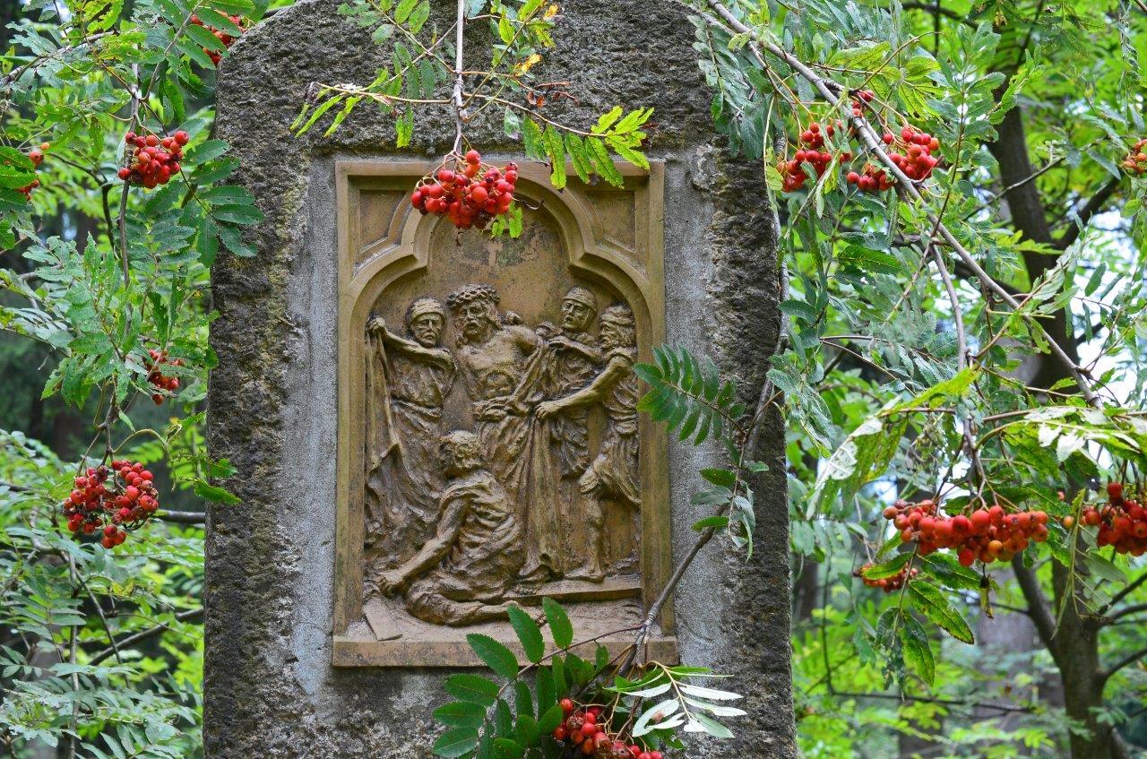 Reliéf křížové cesty