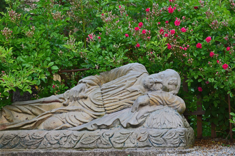 Socha v Getsemanské zahradě u Domu národopisců Scheybalových v Jablonci nad Nisou