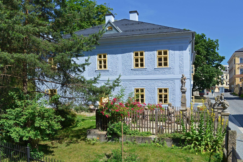 Dům národopisců Jany a Josefa Scheybalových s Getsemanskou zahradou v Jablonci nad Nisou