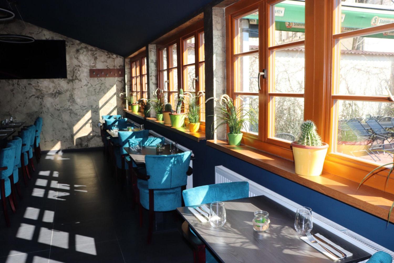 Interiér restaurace a pizzerie Franco v Jablonci nad Nisou