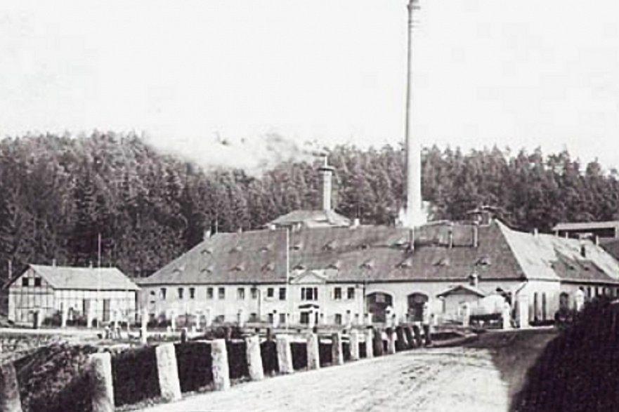 Jablonecký pivovar - historické foto
