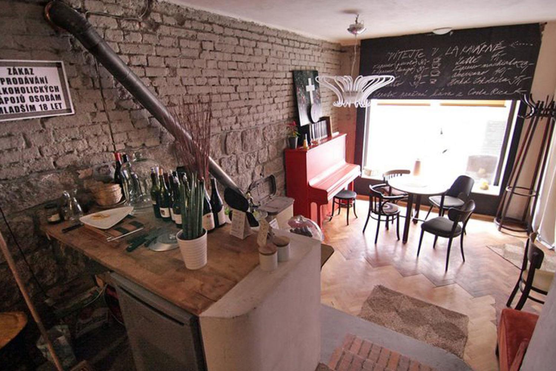 Interiér La kavárny v Jablonci nad Nisou