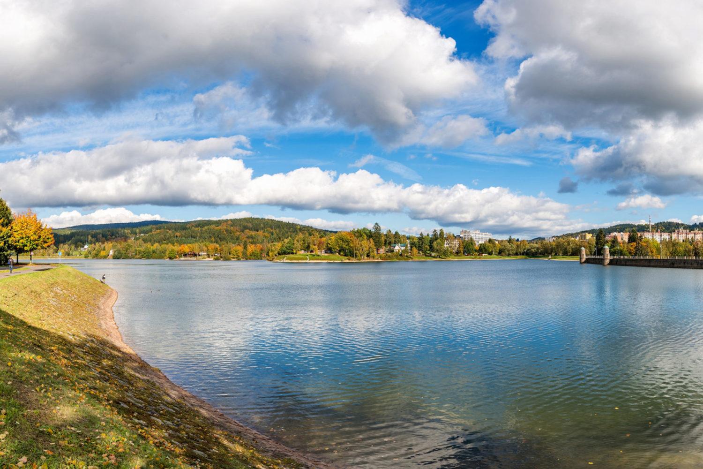 Jablonecká přehrada vhodná ke koupání