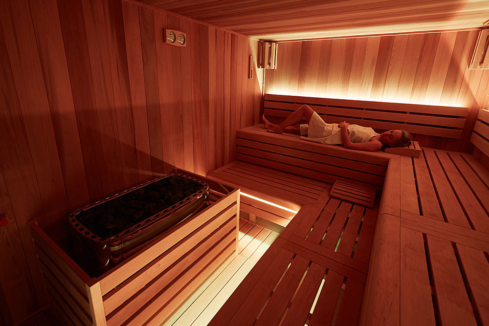 Sauna v hotelu Rehavital Jablonec nad Nisou