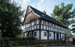 Hrázděný Dům česko-německého porozumění v Rýnovicích - Jablonec nad Nisou