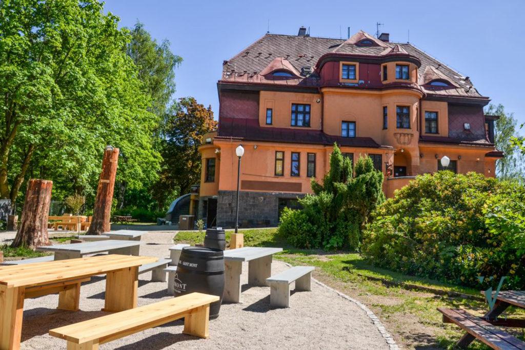Vila se zahradou v Jablonci nad Nisou - minipivovar Volt