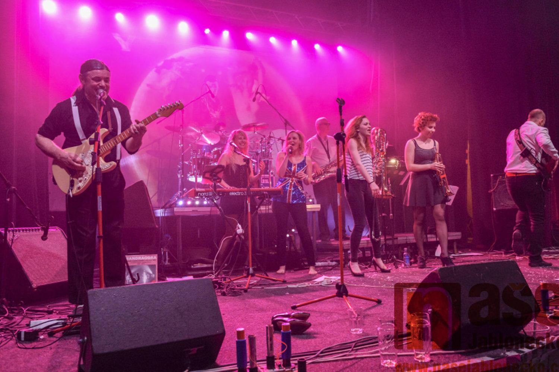 Jablonecká rocková kapela Mandragora hrající v klubu Woko - Jablonec nad Nisou